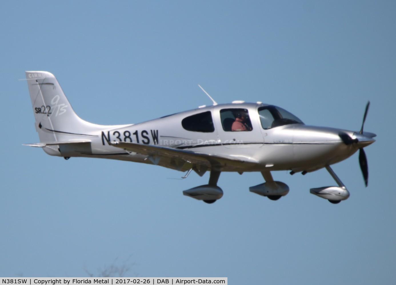 N381SW, 2006 Cirrus SR22 GTS C/N 2279, Cirrus SR22