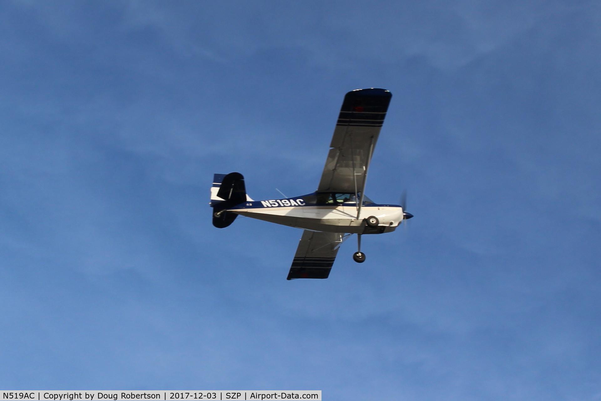 N519AC, 2000 American Champion 7GCBC C/N 1295-2000, 2000 American Champion 7GCBC EXPLORER, Lycoming O-320 150 Hp, takeoff climb Rwy 04