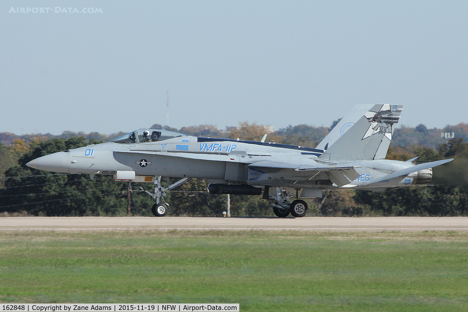 162848, McDonnell Douglas F/A-18A++ Hornet C/N 374/A313, At NAS Fort Worth