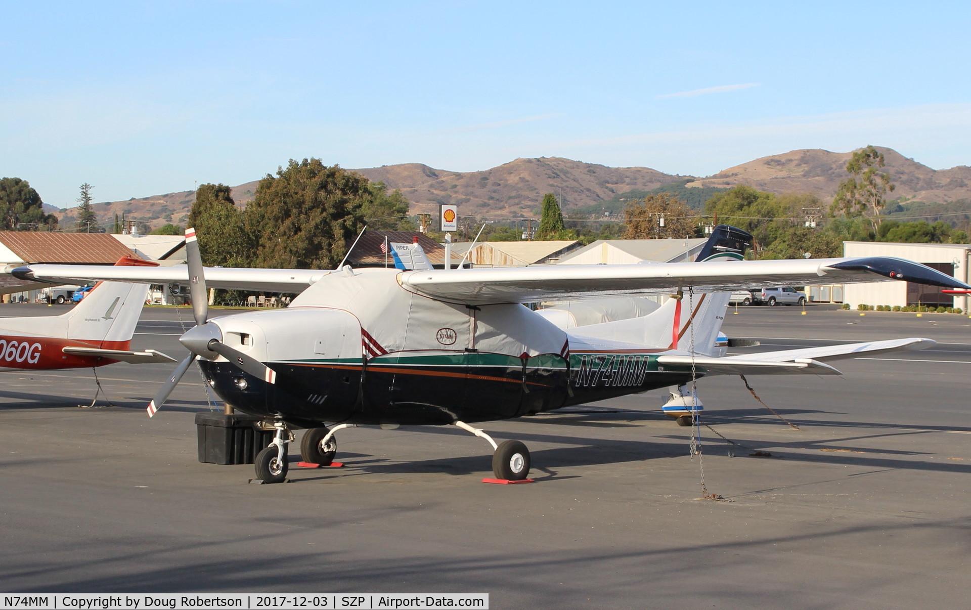 N74MM, 1974 Cessna T210L Turbo Centurion C/N 21060375, 1974 Cessna T210L TURBO CENTURION, Continental TSIO-520-R 310 Hp