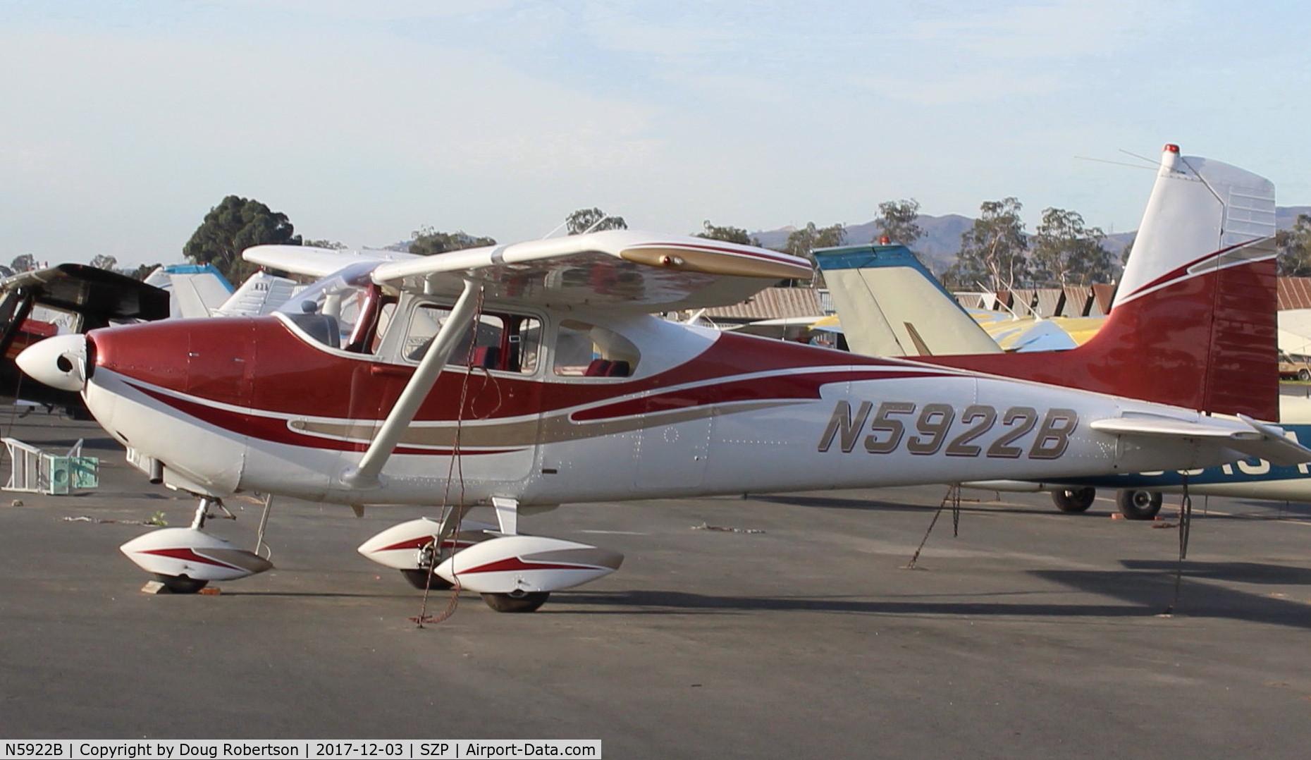 N5922B, 1956 Cessna 182A Skylane C/N 33922, 1956 Cessna 182A SKYLANE, Continental 470-S 230 Hp