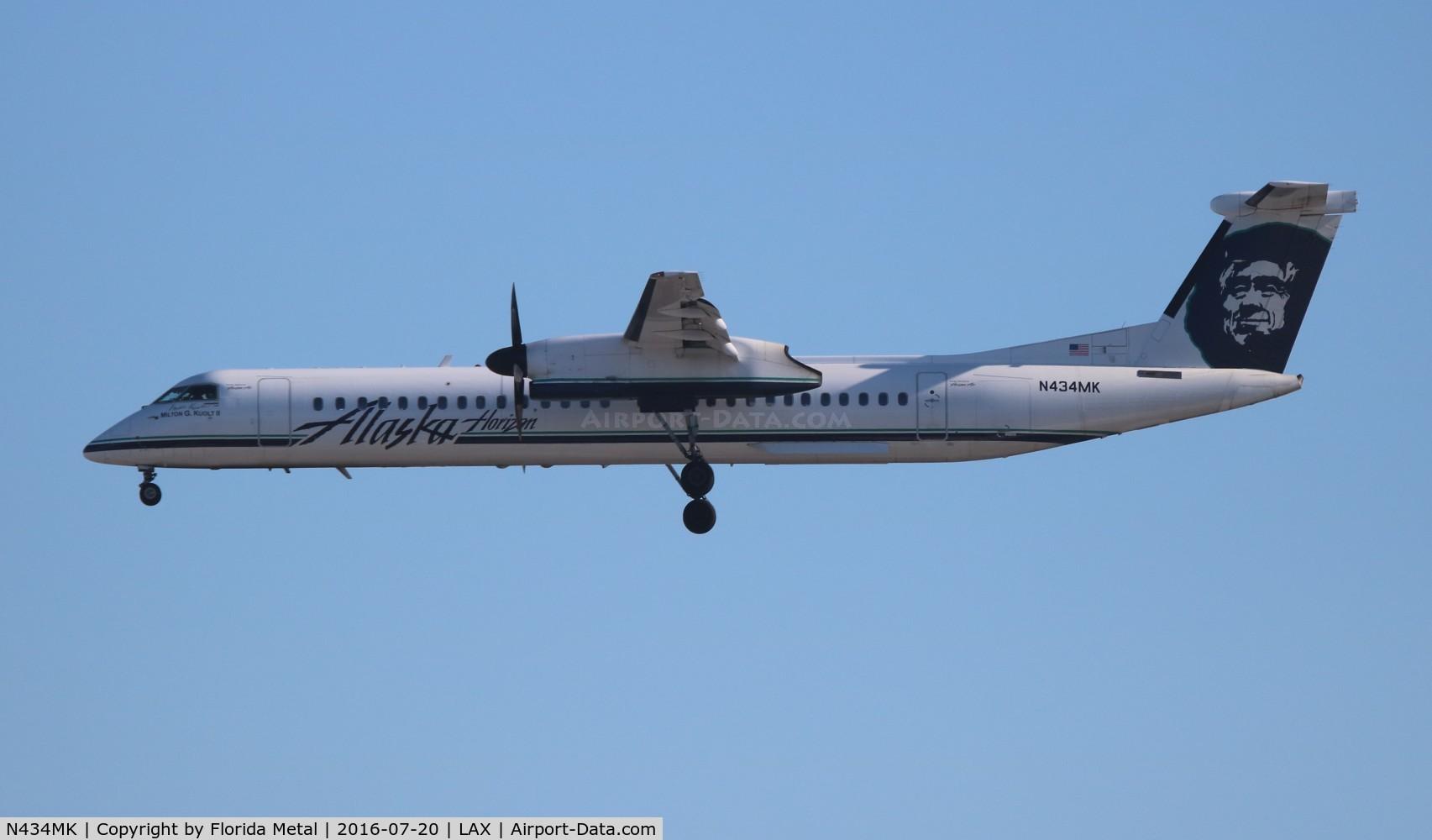 N434MK, 2008 Bombardier DHC-8-402 Dash 8 C/N 4227, Alaska