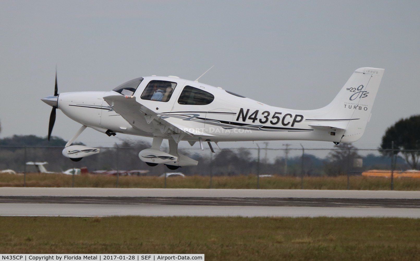 N435CP, 2008 Cirrus SR22 G3 GTS Turbo C/N 3264, Cirrus SR22