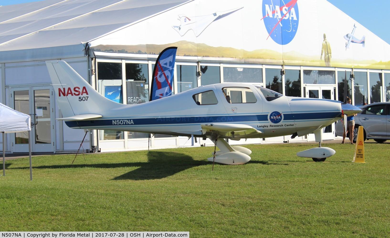 N507NA, 2000 Lancair LC-40-550FG C/N 40008, NASA LC-40