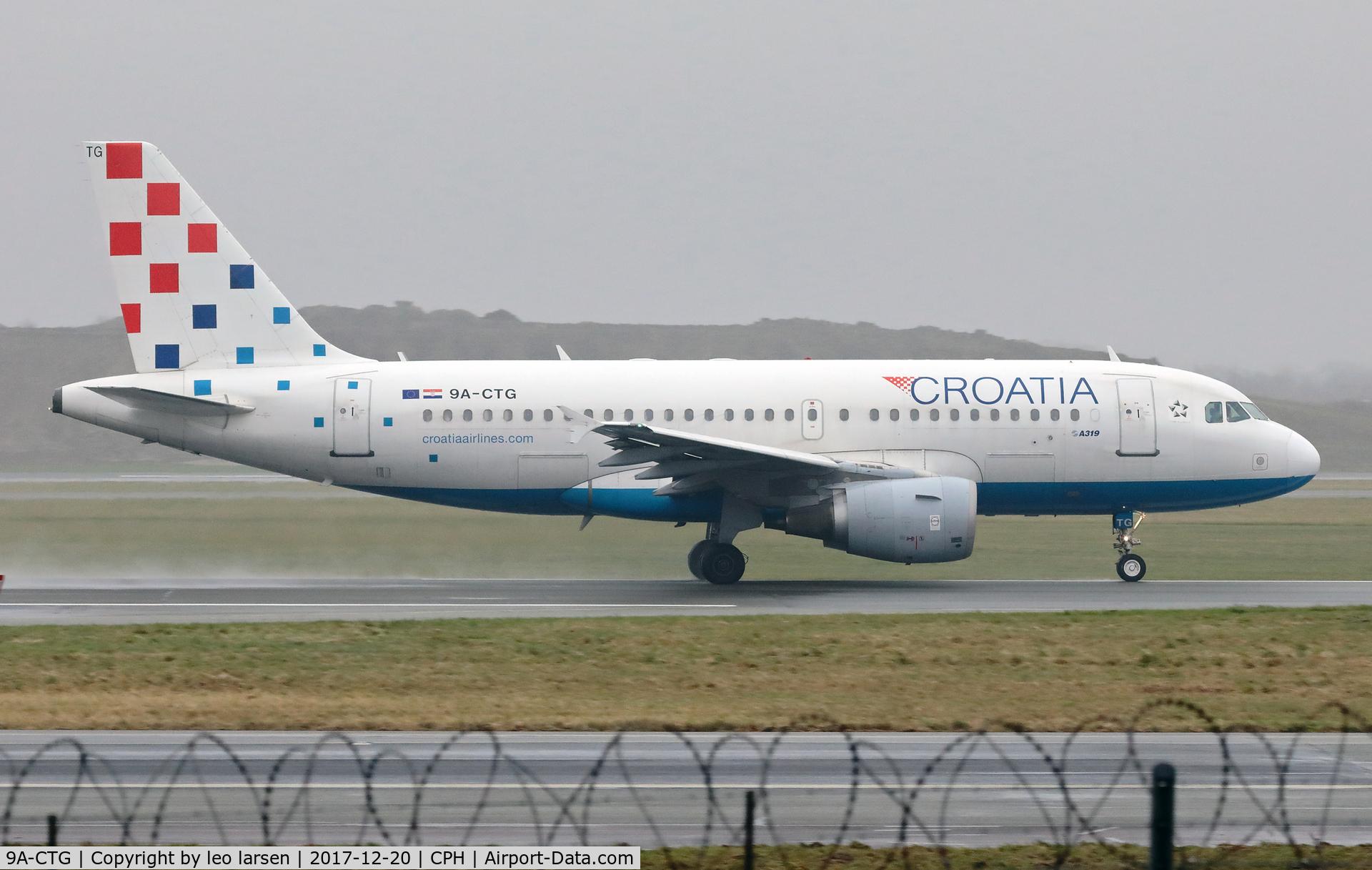 9A-CTG, 1998 Airbus A319-112 C/N 767, Copenhagen 20.12.2017