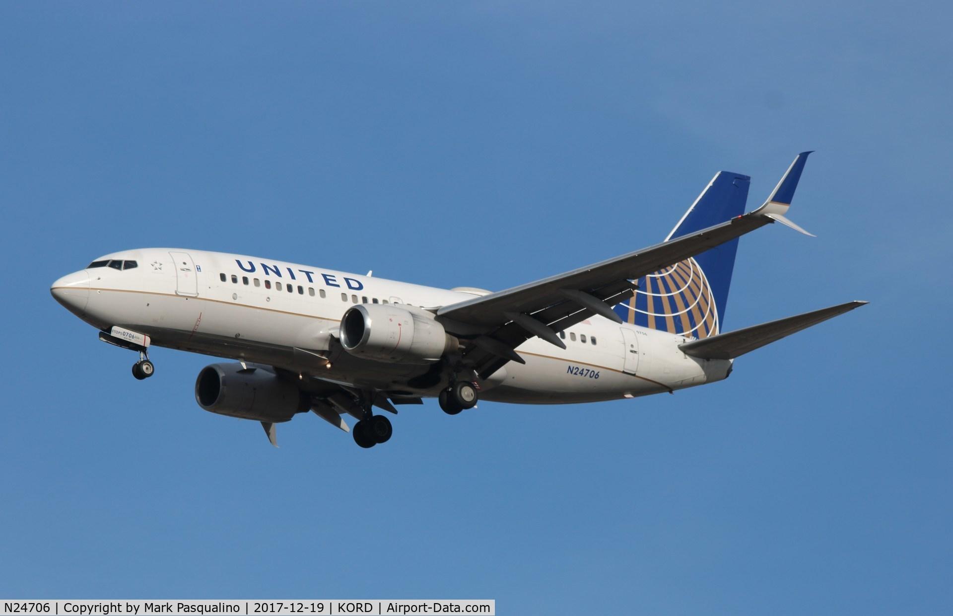 N24706, 1998 Boeing 737-724 C/N 28767, Boeing 737-700