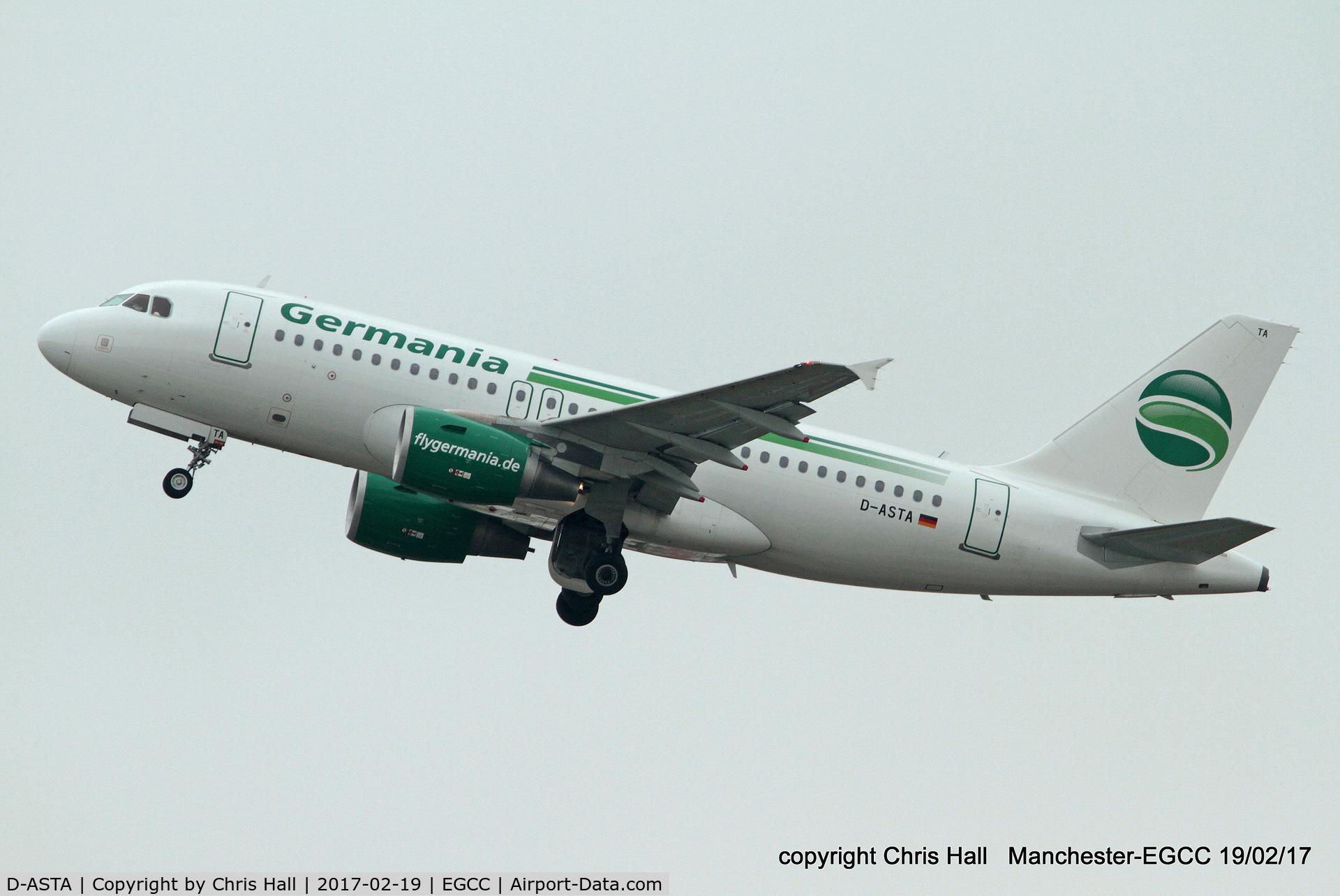 D-ASTA, 2011 Airbus A319-112 C/N 4663, Germania