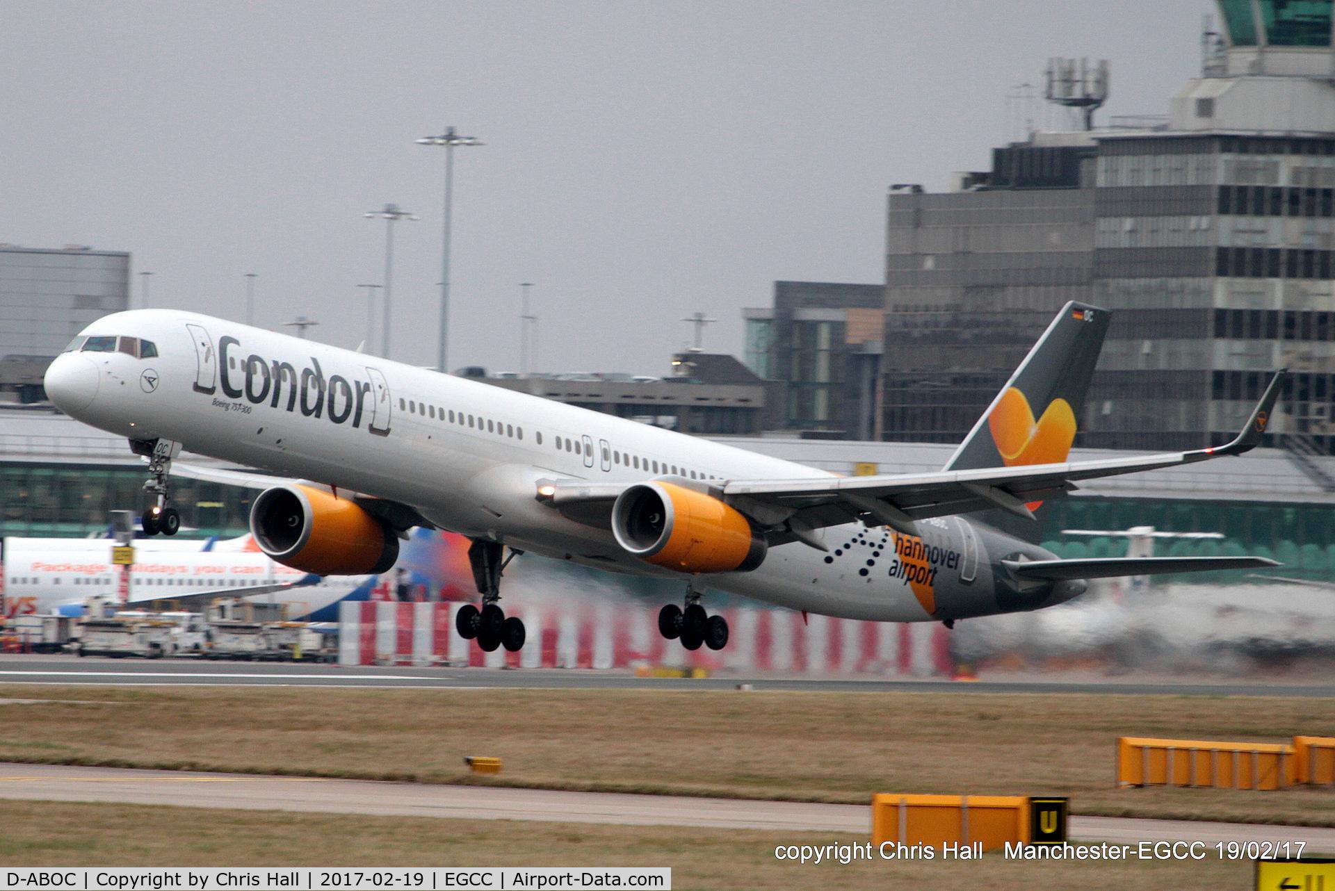 D-ABOC, 1998 Boeing 757-330 C/N 29015, Condor