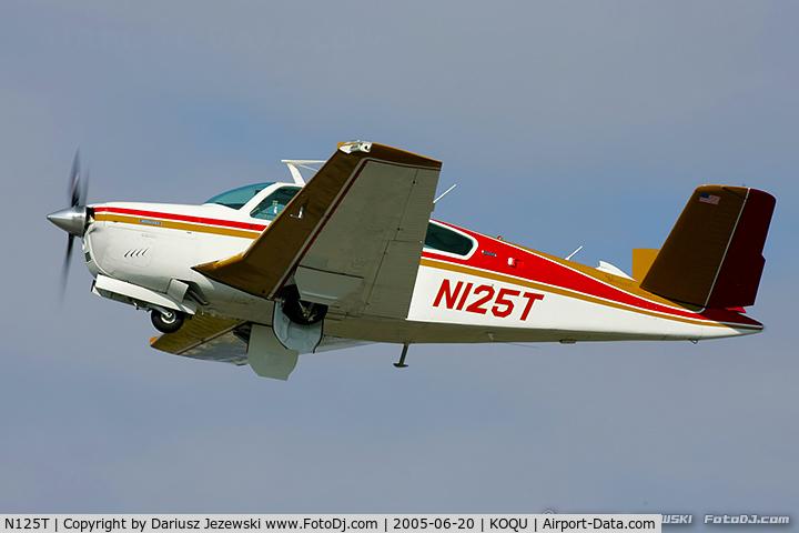 N125T, 1973 Beech V35B Bonanza C/N D-9560, Beech V35B Bonanza  C/N D-9560, N125T
