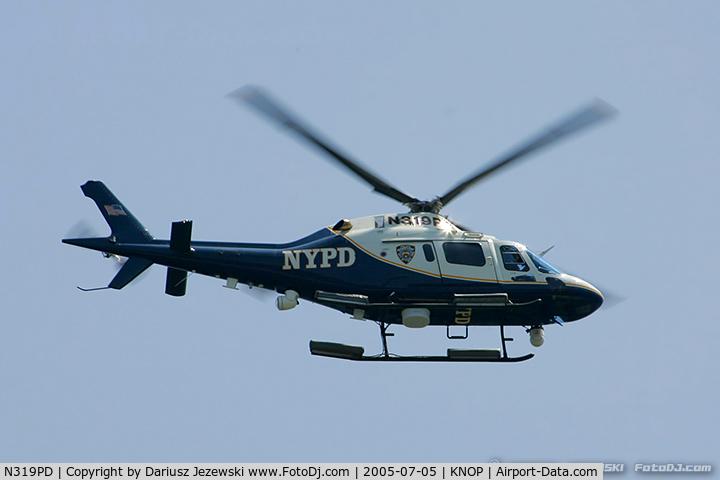 N319PD, 2004 Agusta A-119 Koala C/N 14040, AgustaWestland  A119 Koala  C/N 14040 NYPD, N319PD