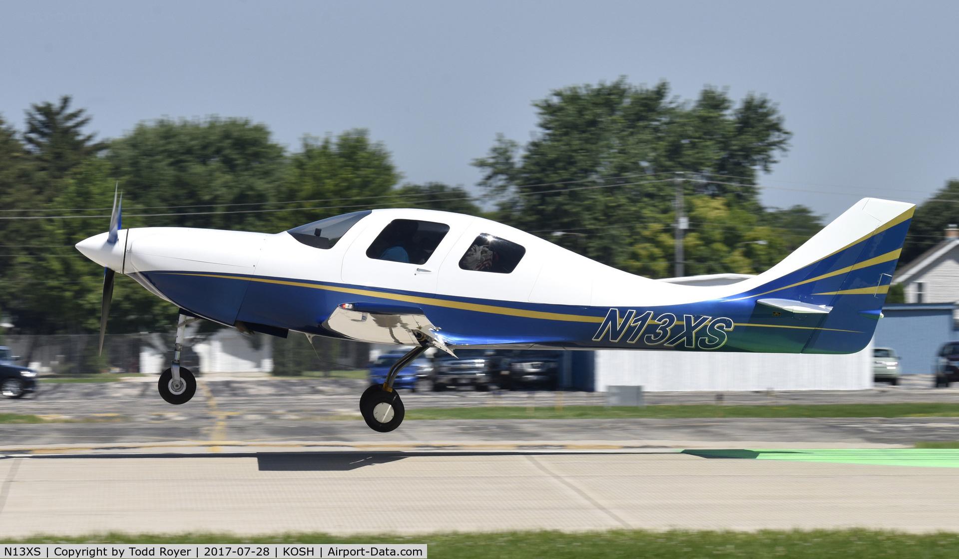 N13XS, 2007 Lancair IV C/N LIV-516-SFB-DO, Airventure 2017