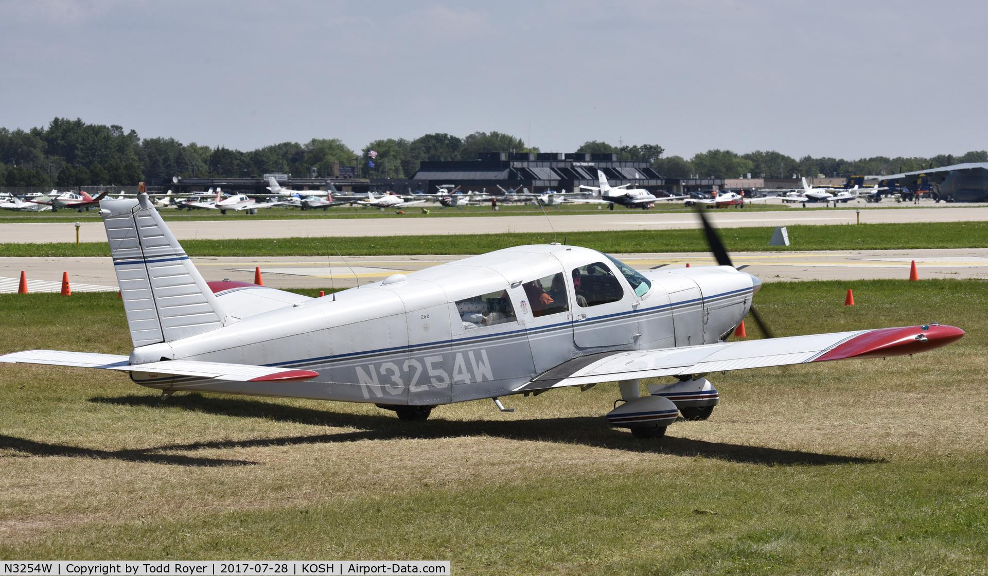 N3254W, 1965 Piper PA-32-260 Cherokee Six C/N 32-76, Airventure 2017