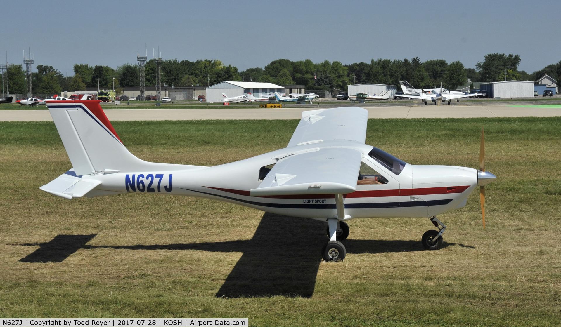 N627J, 2007 Jabiru J250-SP C/N 471, Airventure 2017