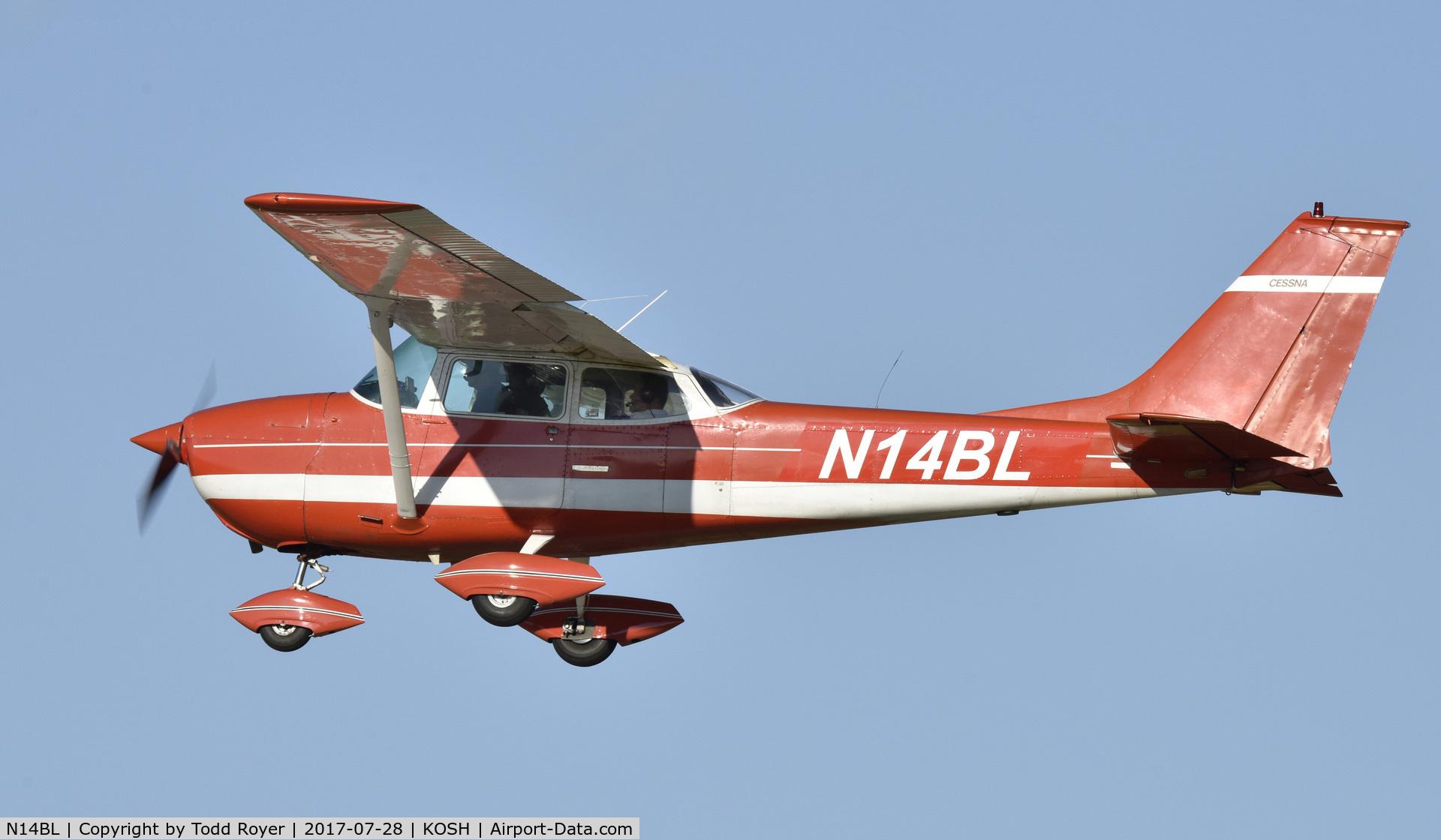N14BL, 1968 Cessna 172K Skyhawk C/N 17257735, Airventure 2017