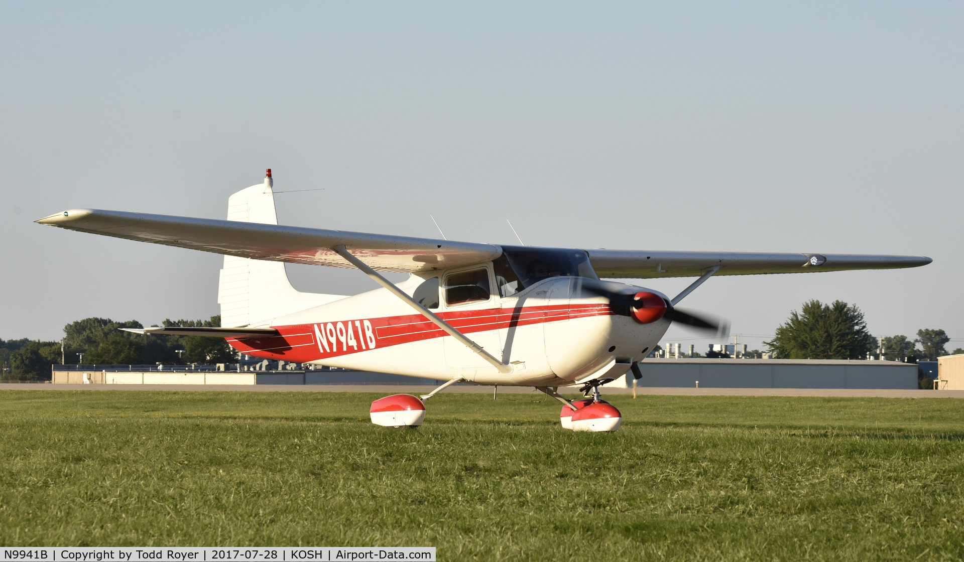 N9941B, 1957 Cessna 182A Skylane C/N 34341, Airventure 2017