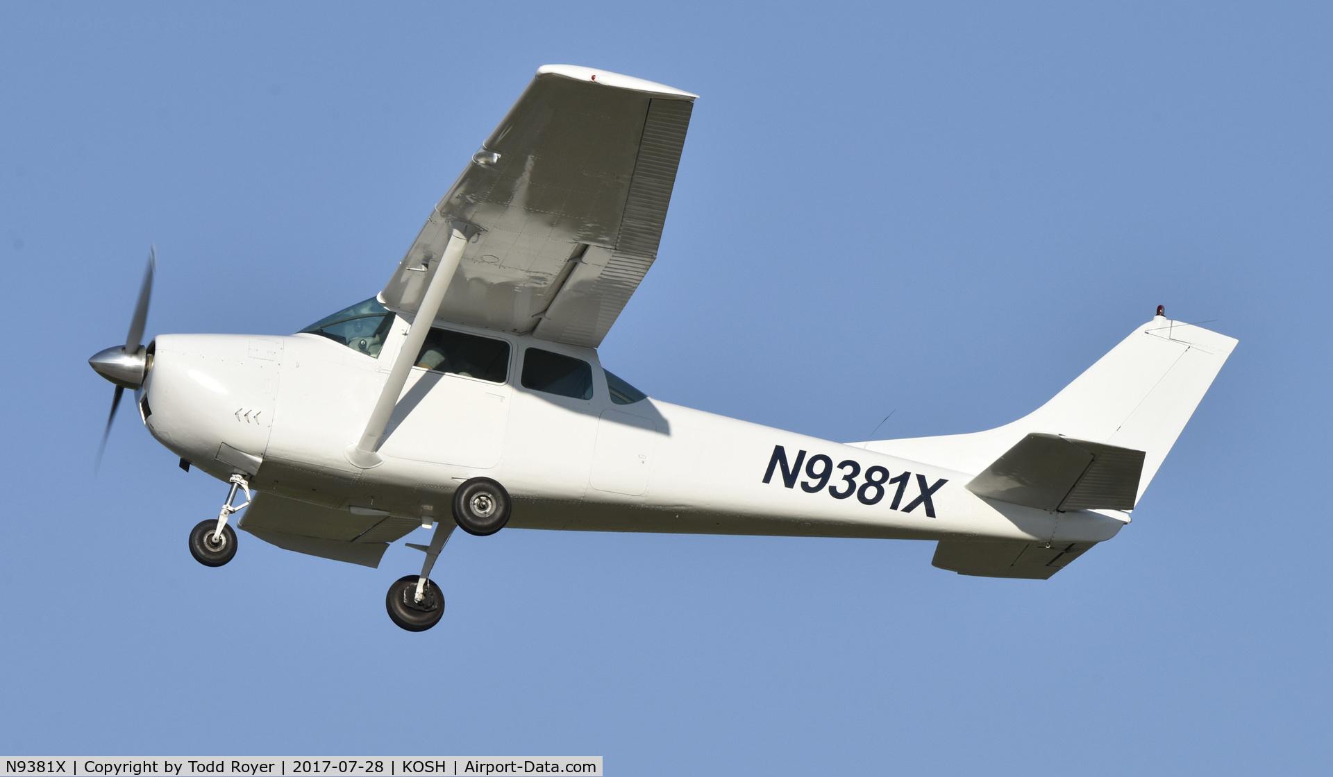 N9381X, 1962 Cessna 182E Skylane C/N 18253781, Airventure 2017