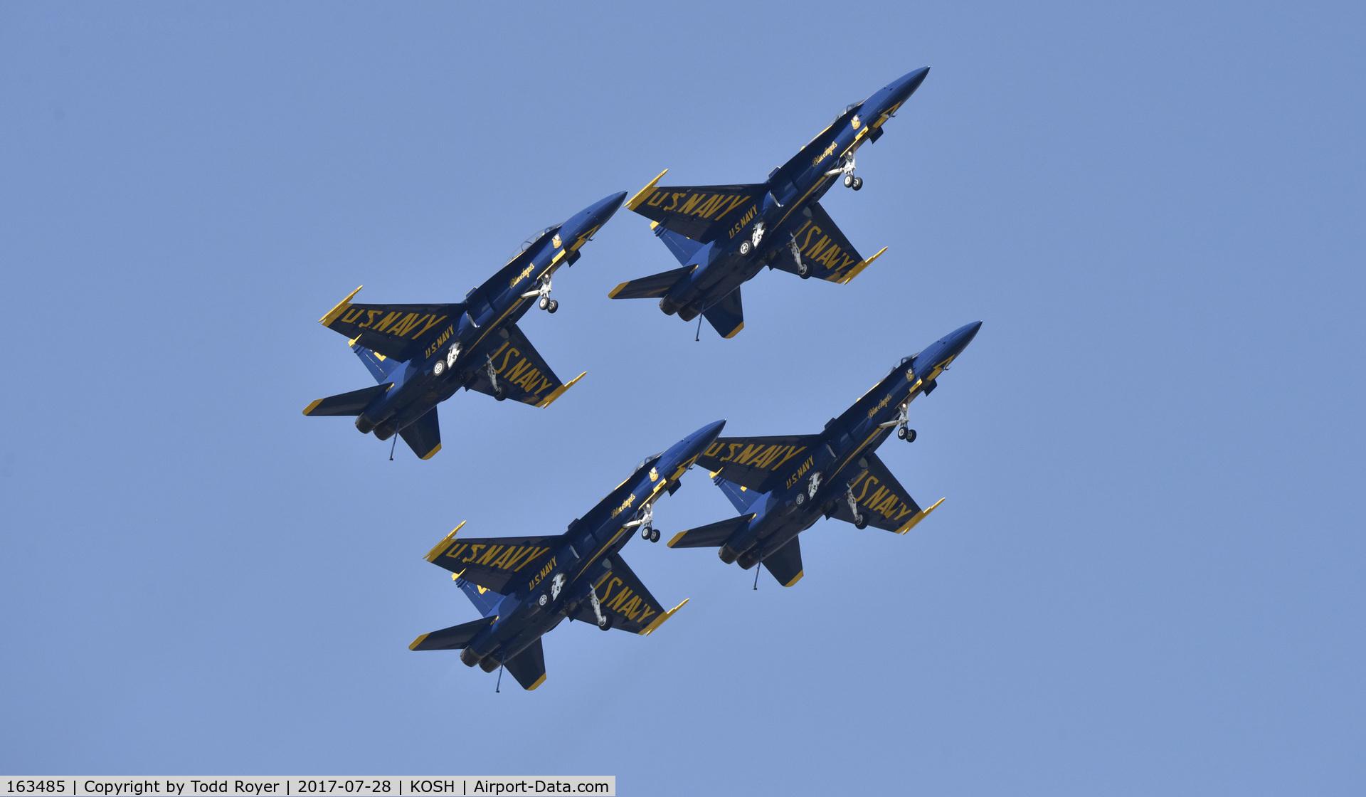 163485, 1988 McDonnell Douglas F/A-18C Hornet C/N 0717/C044, Airventure 2017