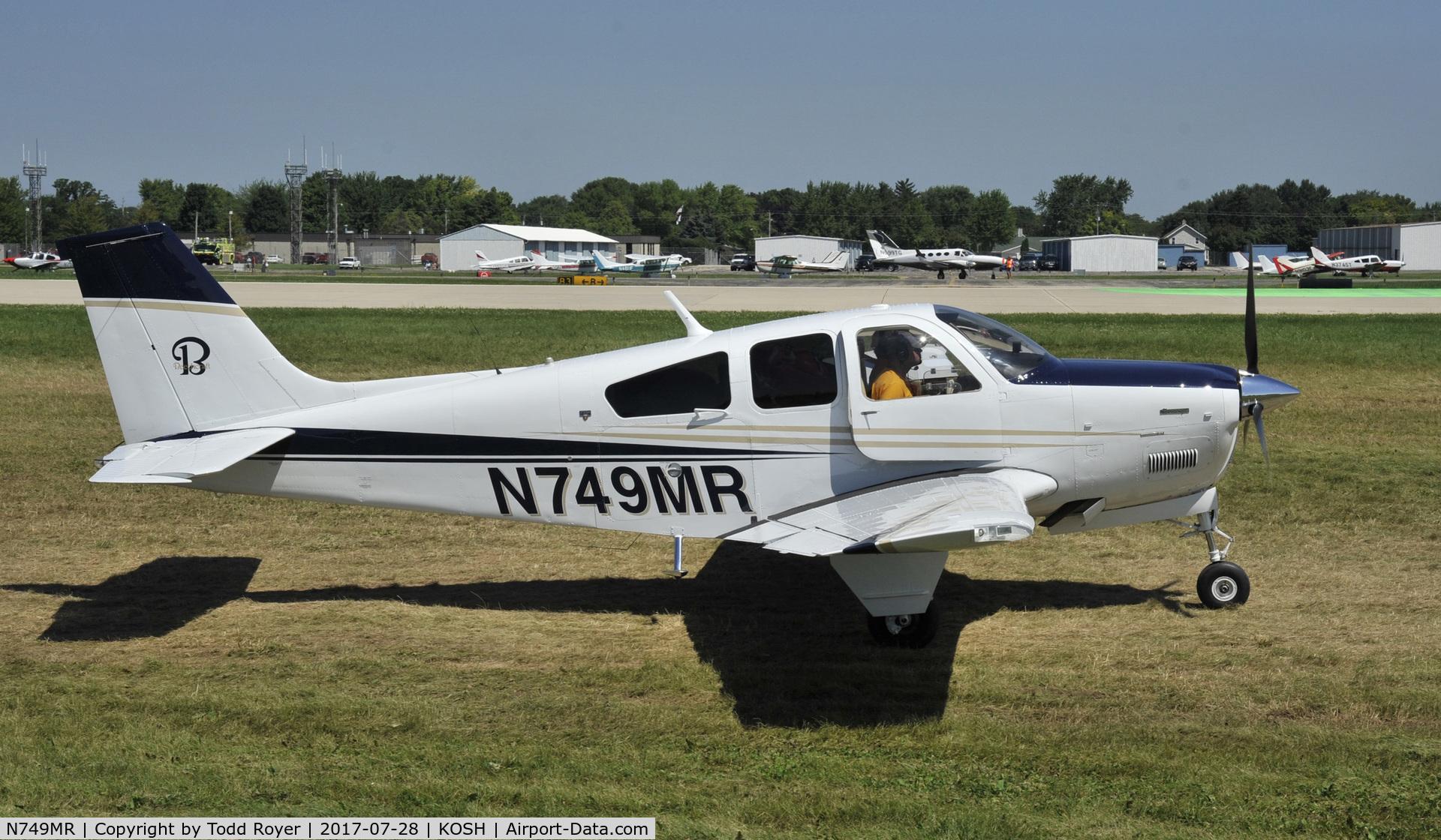 N749MR, 1979 Beech F33A Bonanza C/N CE859, Airventure 2017