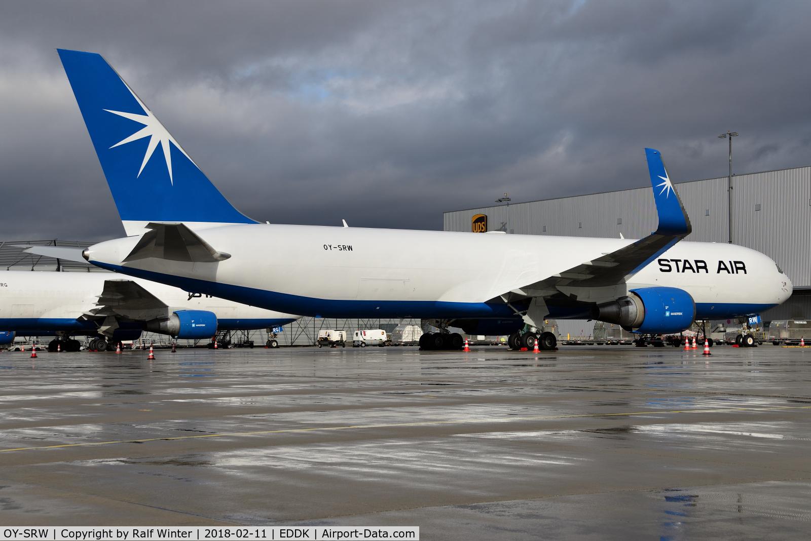 OY-SRW, 2007 Boeing 767-346F C/N 35818, Boeing 767-346F(ER)(WL) - Star Air - 35818 - OY-SRW - 11.02.2018 - CGN