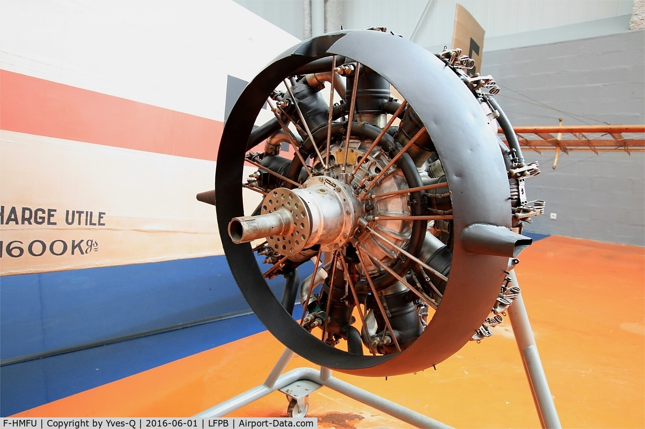 F-HMFU, 1920 Farman F.60 Goliath C/N 3, Salmson Z9, 9-cylinder radial engine. Two of these engines propelled the Farman F.60 Goliath, Air & Space Museum Paris-Le Bourget (LFPB)