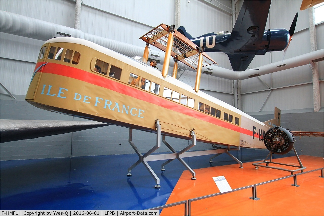F-HMFU, 1920 Farman F.60 Goliath C/N 3, Farman F.60 Goliath, Air & Space Museum Paris-Le Bourget Airport (LFPB-LBG)