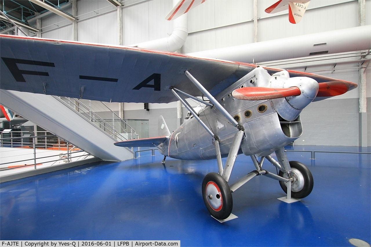 F-AJTE, Dewoitine D.530 C/N 06, Dewoitine D.530, Air & Space Museum Paris-Le Bourget Airport (LFPB-LBG)