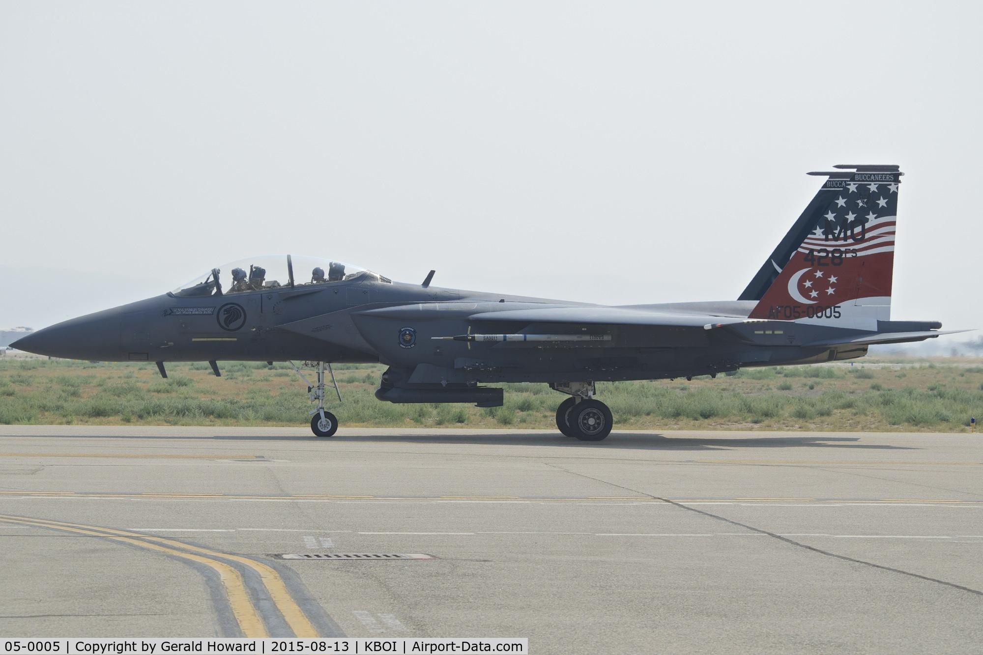 05-0005, 2005 Boeing F-15SG Strike Eagle C/N SG5, 428th Fighter Sq.
