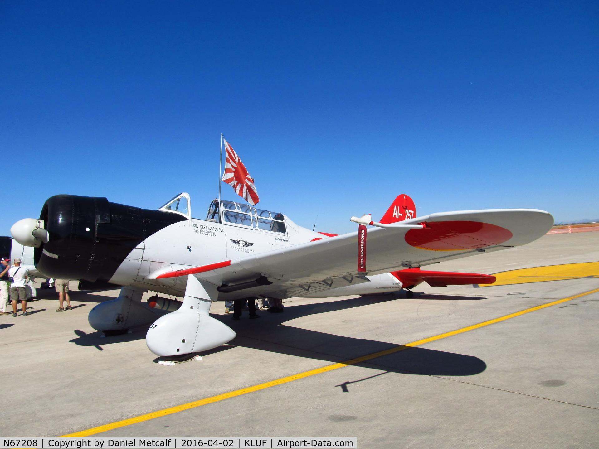 N67208, 1941 Consolidated Vultee BT-13A C/N 2307, Luke AFB Air Show 2016