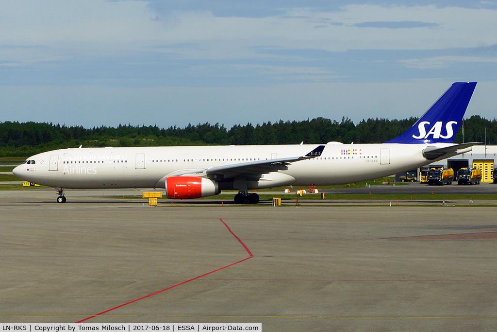 LN-RKS, 2015 Airbus A330-343E C/N 1665,