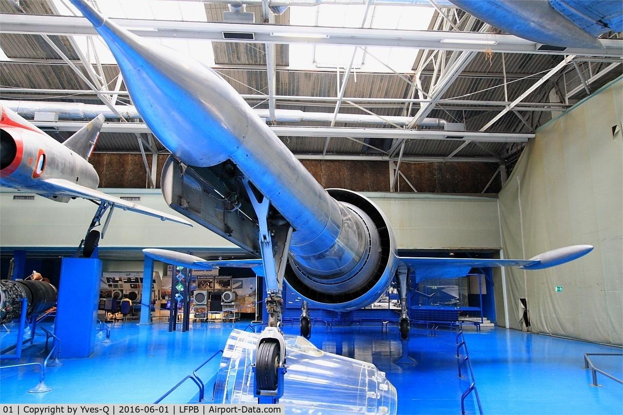 01, Leduc 022 C/N 01, Leduc 022, Air & Space Museum Paris-Le Bourget (LFPB)