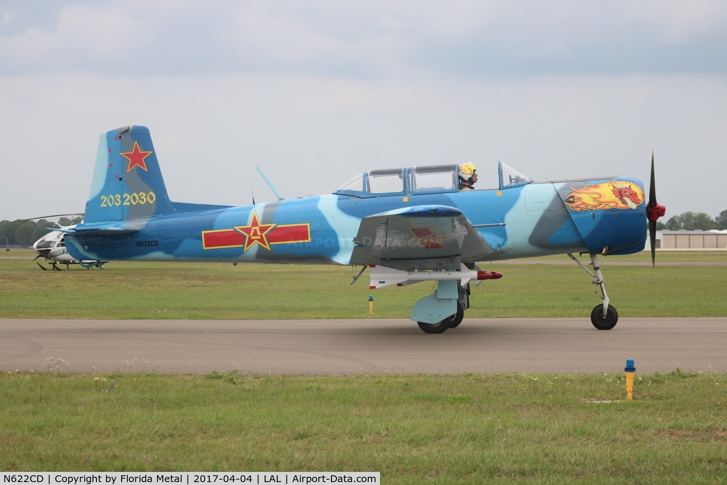 N622CD, 1977 Nanchang CJ-6A C/N 2032030, CJ-6A