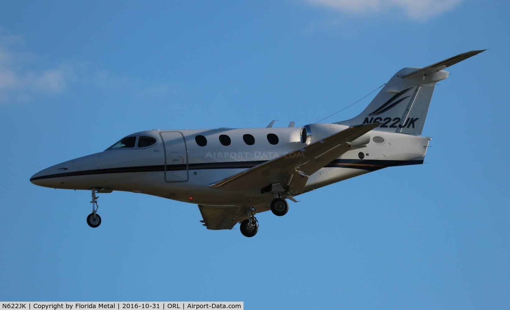 N622JK, Raytheon Aircraft Company 390 C/N RB-59, Beech 390