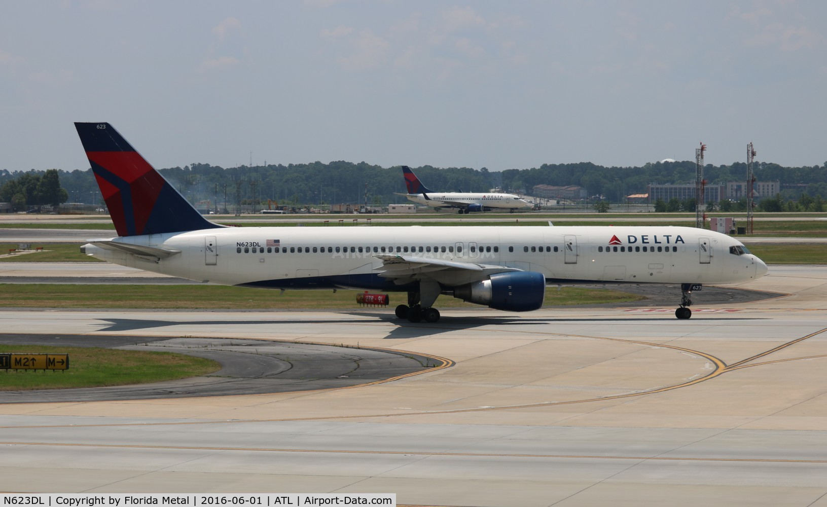 N623DL, 1987 Boeing 757-232 C/N 22913, Delta