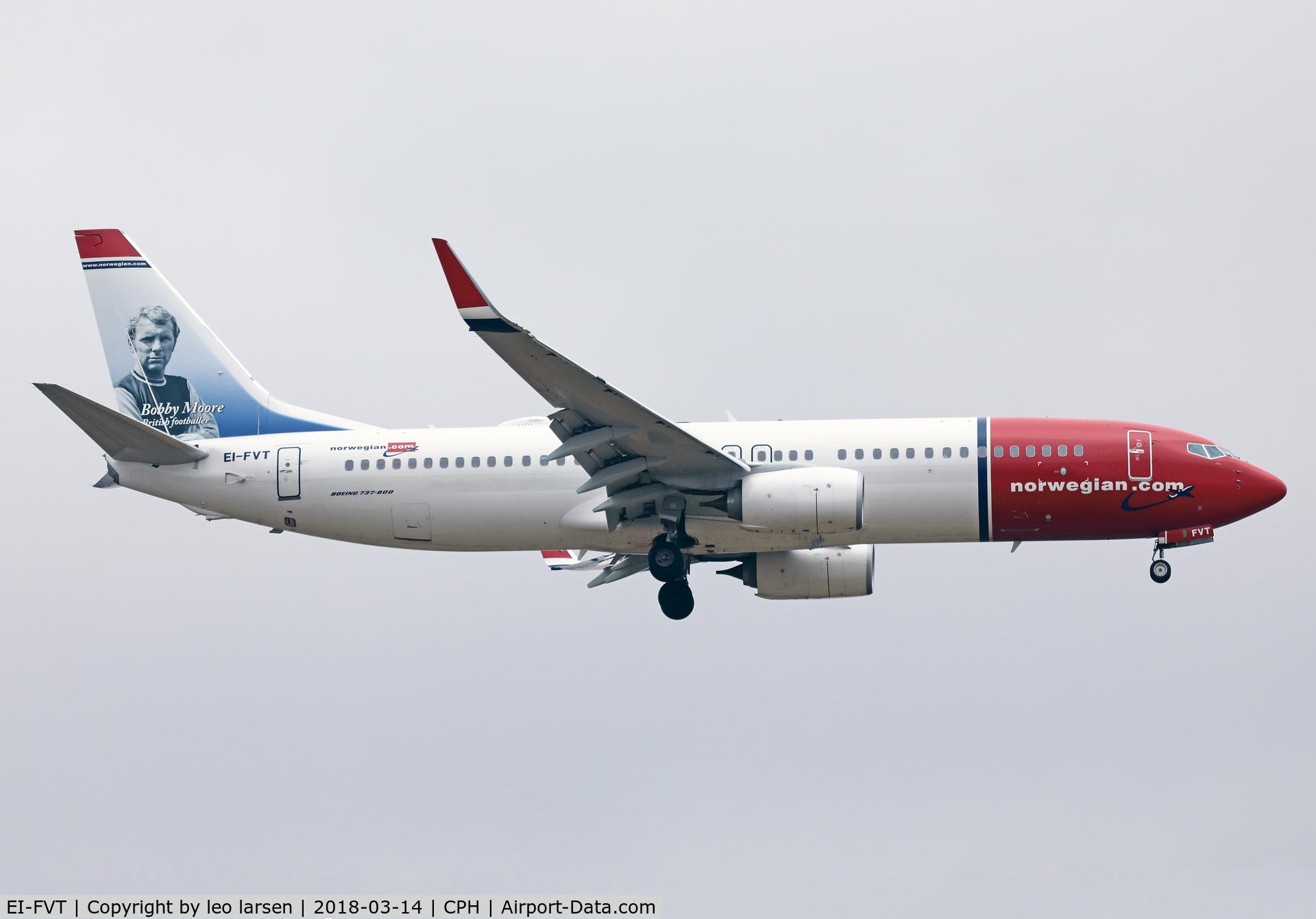 EI-FVT, 2017 Boeing 737-8JP C/N 42280, Copenhagen 14.3.18 app to R-04L