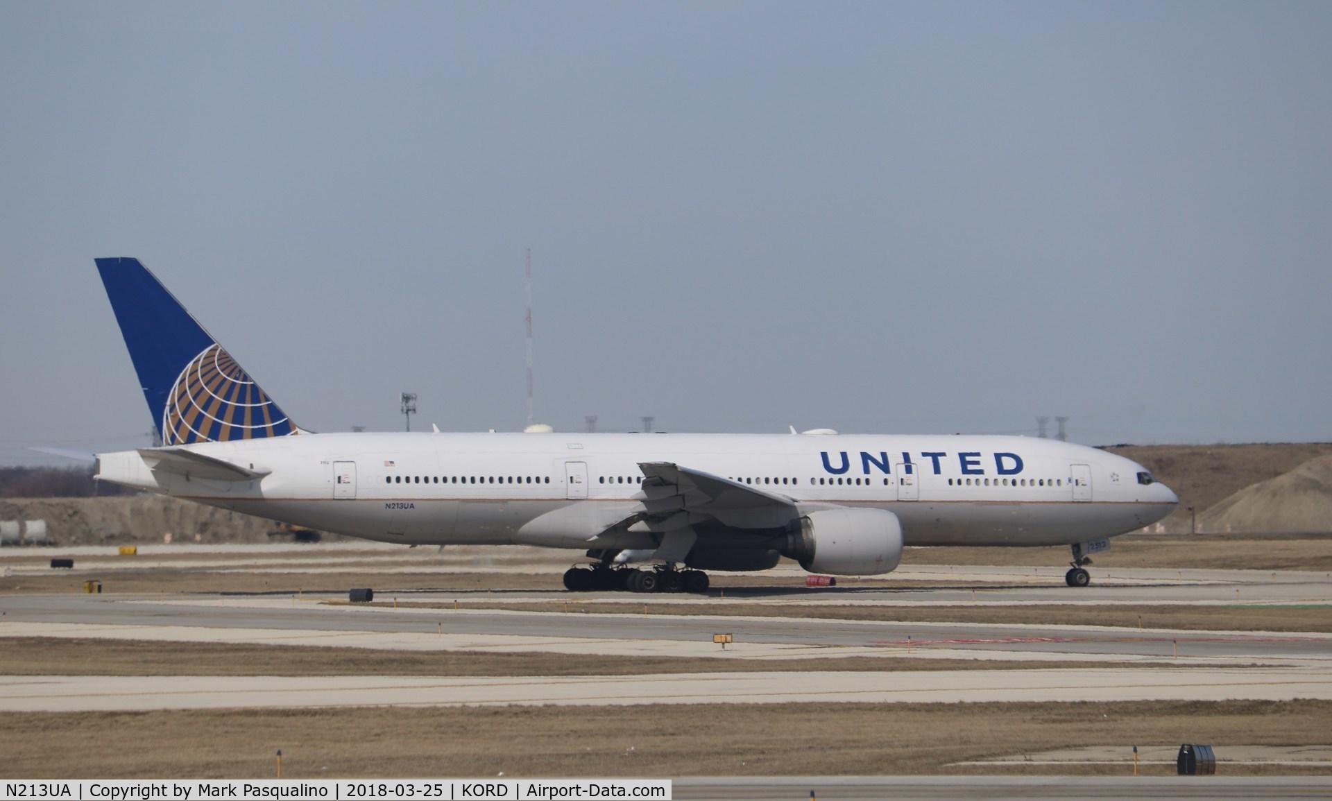 N213UA, 2000 Boeing 777-222 C/N 30219, Boeing 777-200