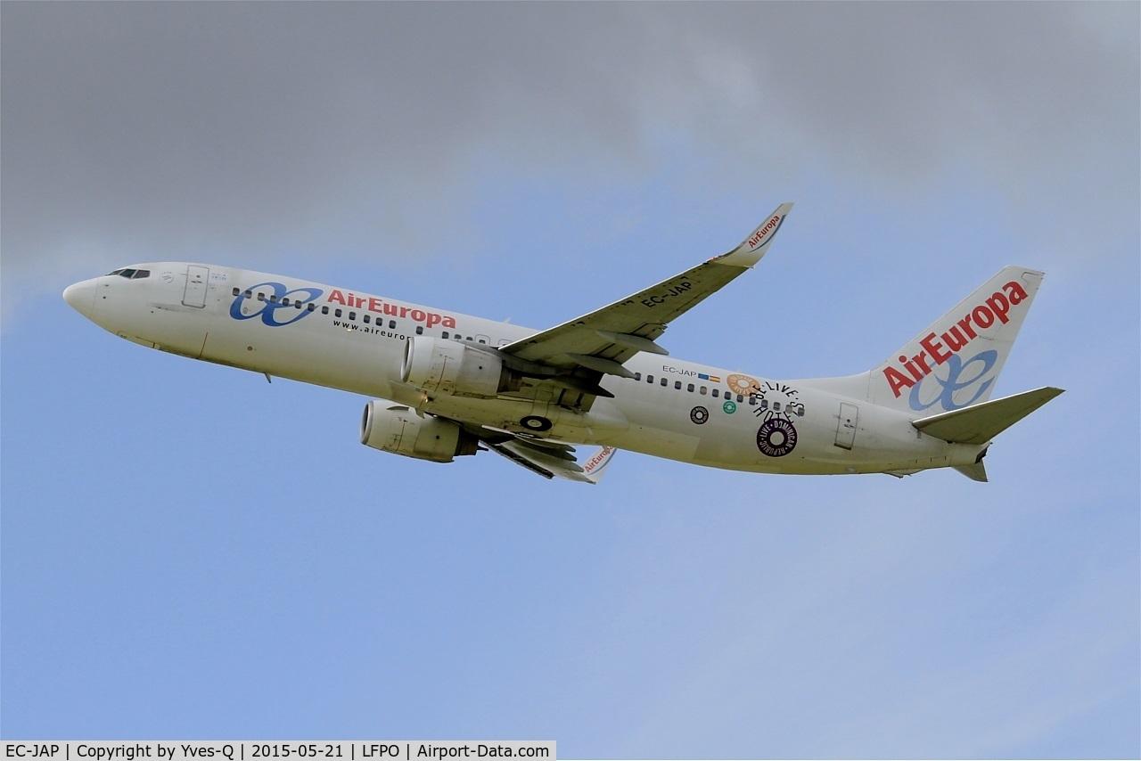EC-JAP, 2004 Boeing 737-85P C/N 33971, Boeing 737-85P, Take off rwy 24, Paris-Orly Airport (LFPO-ORY)