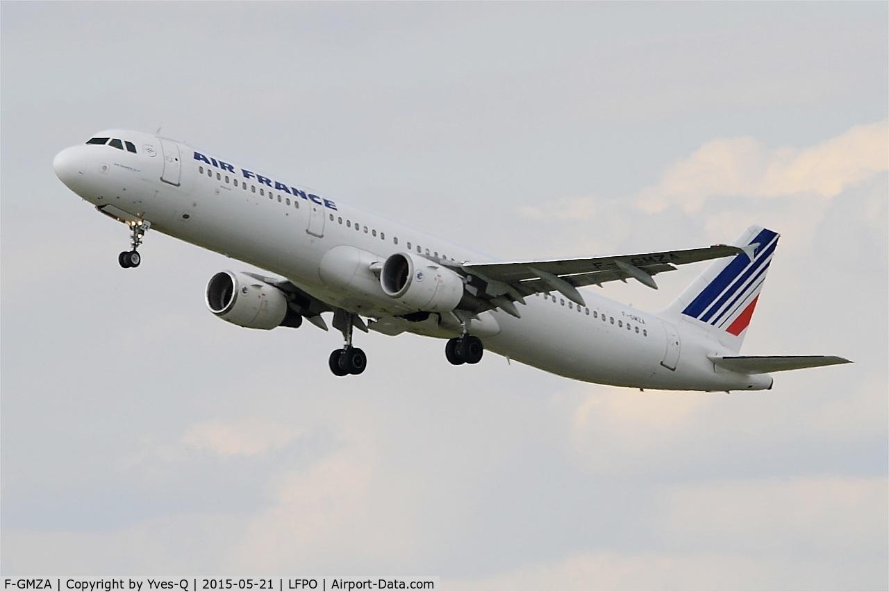 F-GMZA, 1994 Airbus A321-111 C/N 0498, Airbus A321-111, Take off rwy 24, Bordeaux-Mérignac airport (LFBD-BOD)