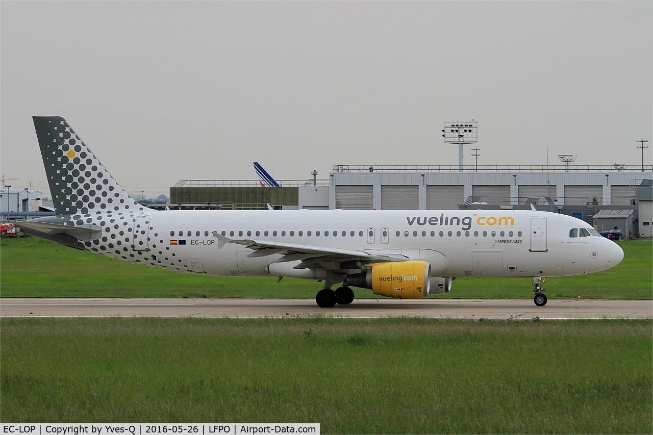 EC-LOP, 2011 Airbus A320-214 C/N 4937, Airbus A320-214, Take off run rwy 08, Paris-Orly Airport (LFPO-ORY)