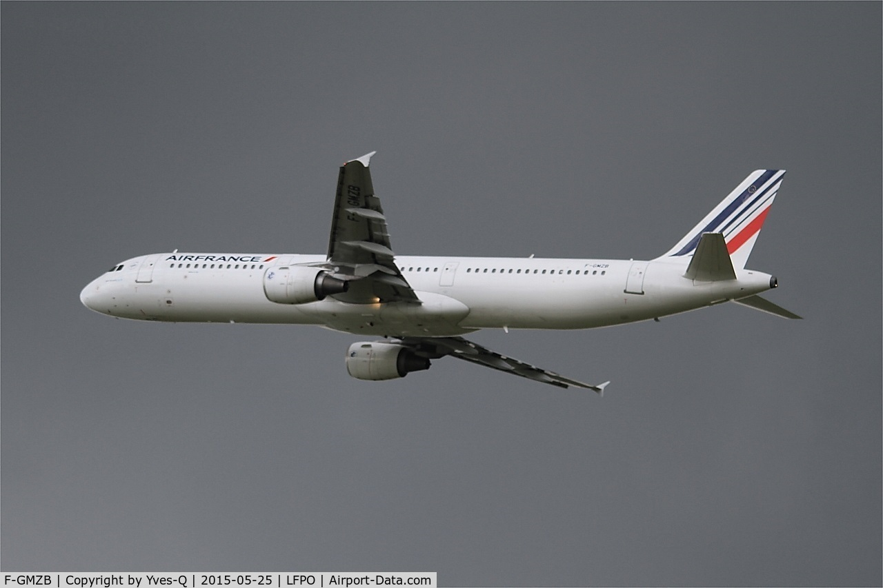 F-GMZB, 1994 Airbus A321-111 C/N 0509, Airbus A321-111, Take off rwy 24, Paris-Orly Airport (LFPO-ORY)