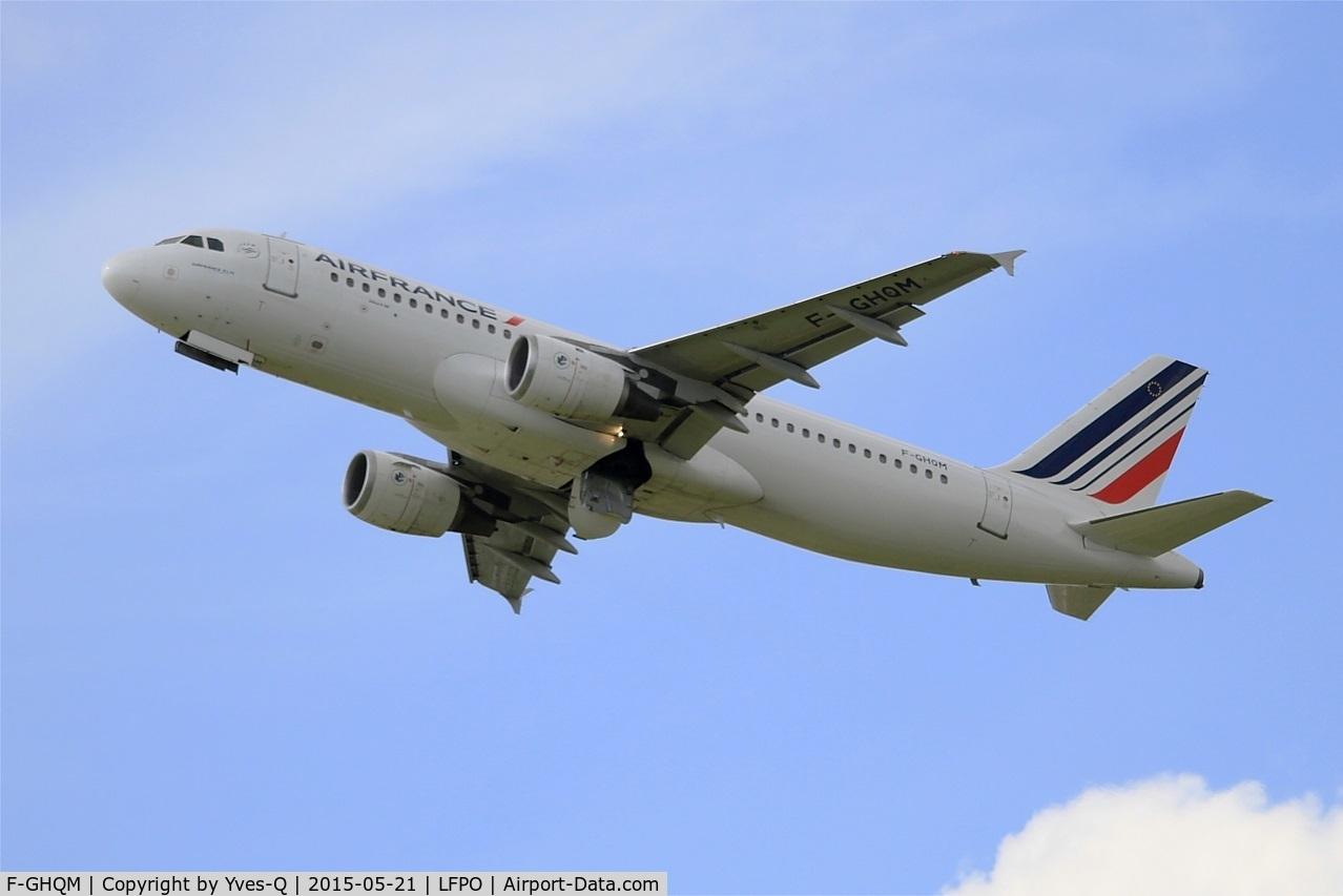 F-GHQM, 1991 Airbus A320-211 C/N 237, Airbus A320-211, Take off rwy 24, Paris-Orly airport (LFPO-ORY)