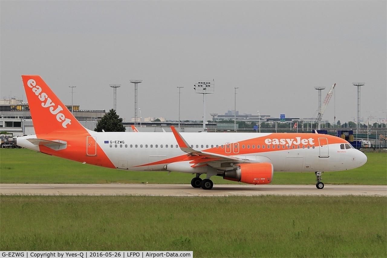 G-EZWG, 2012 Airbus A320-214 C/N 5318, Airbus A320-214, Take off run rwy 08, Paris-Orly airport (LFPO-ORY)