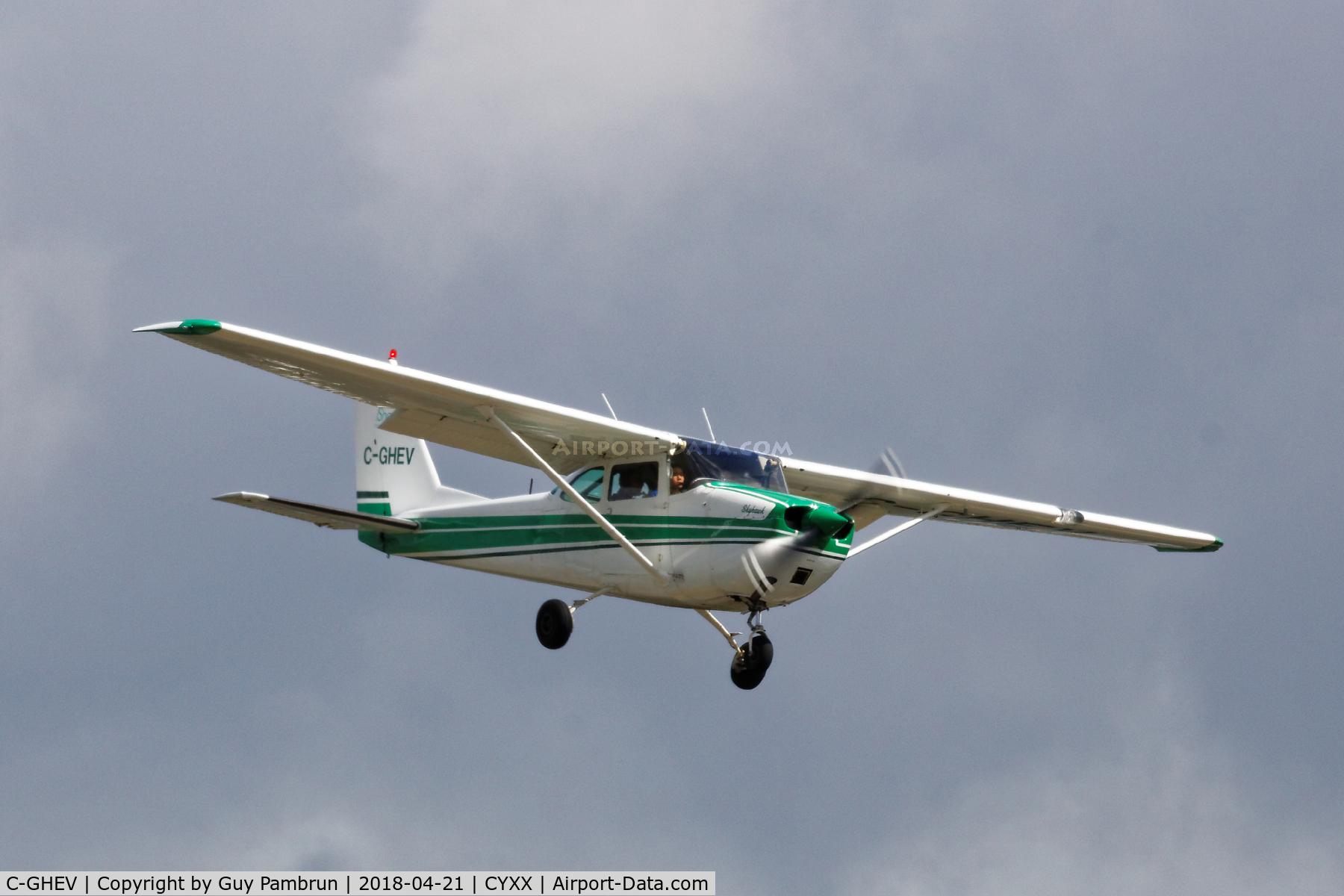 C-GHEV, 1968 Cessna 172I Skyhawk C/N 17256737, Landing