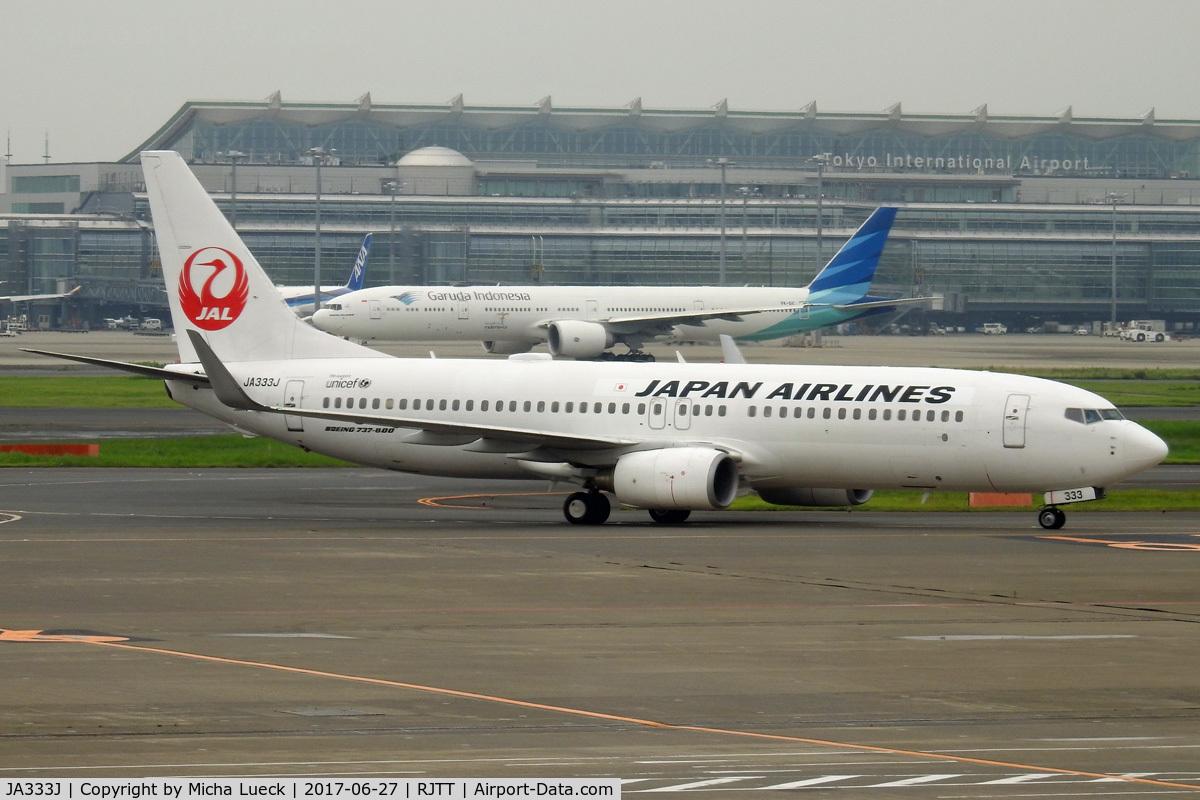 JA333J, 2010 Boeing 737-846 C/N 40348, At Haneda