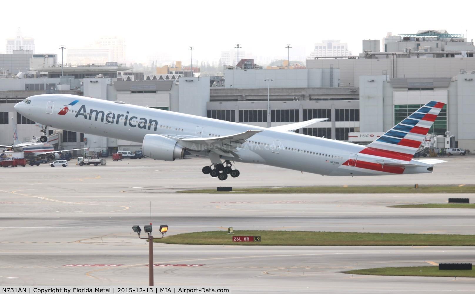 N731AN, 2014 Boeing 777-323/ER C/N 33523, American