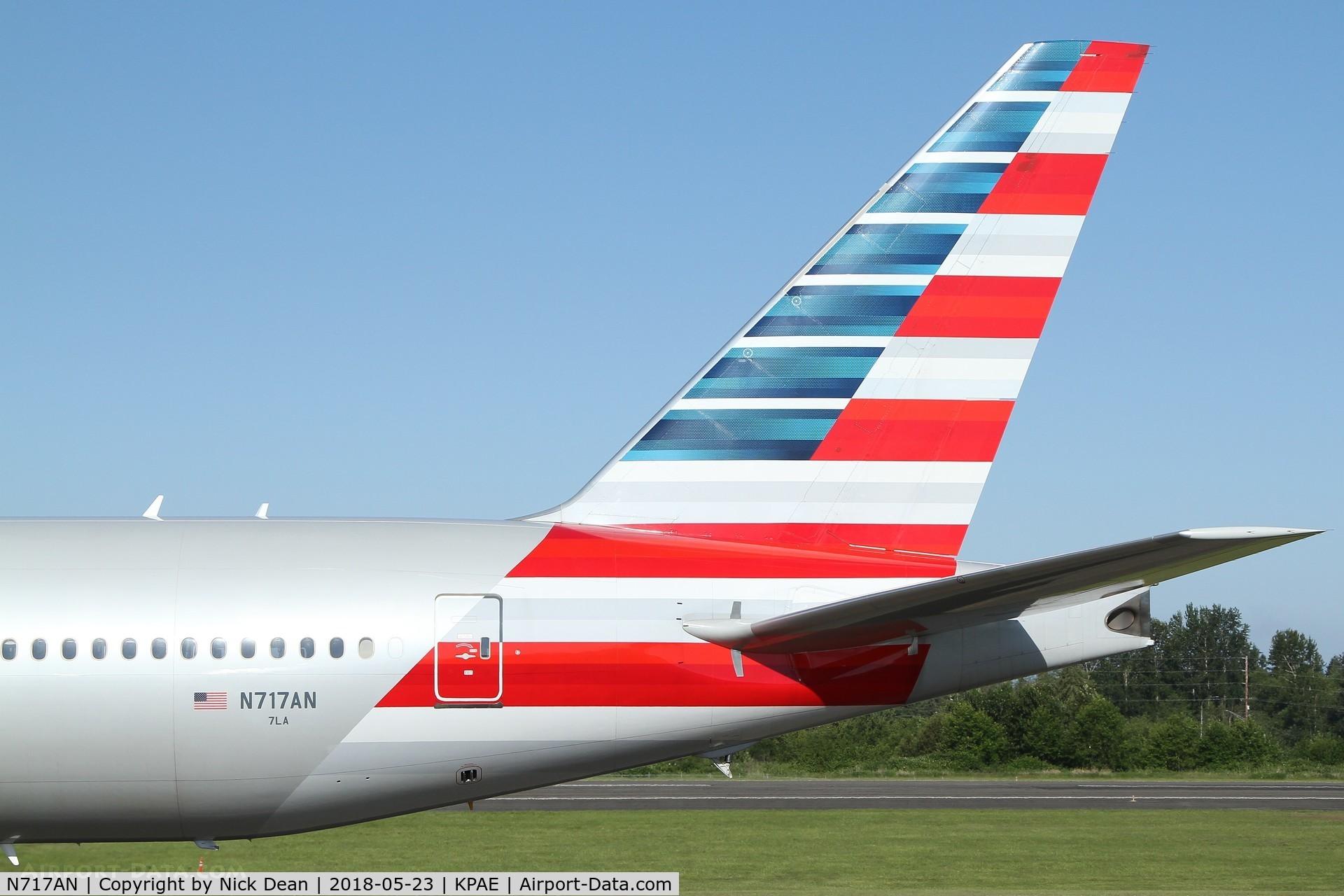 N717AN, 2012 Boeing 777-323/ER C/N 31543, PAE/KPAE