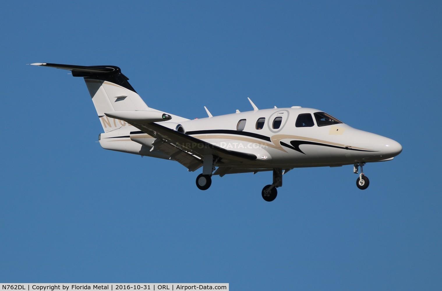 Aircraft N762DL (2008 Eclipse Aviation Corp EA500 C/N 000215