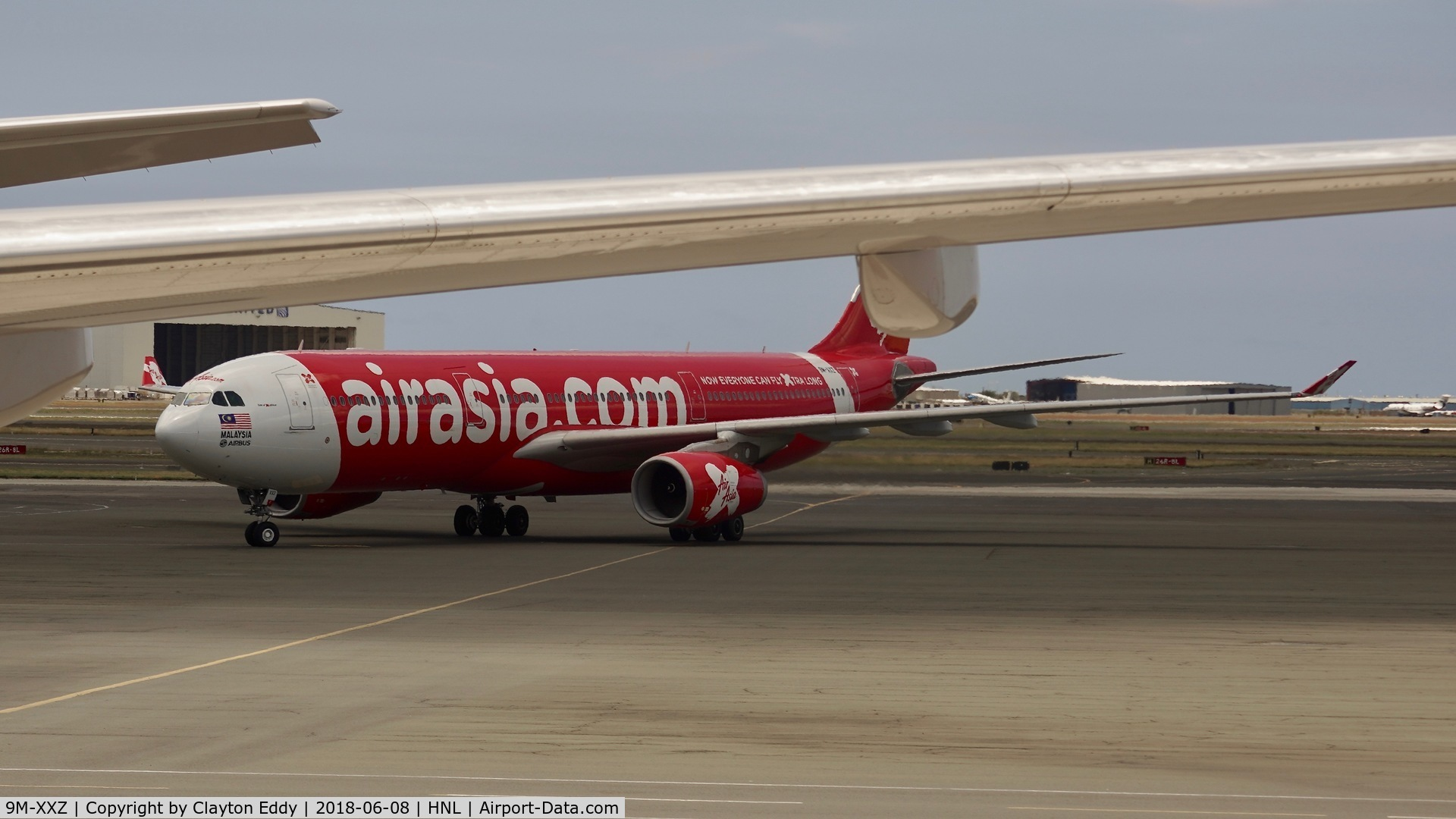 9M-XXZ, 2015 Airbus A330-343 C/N 1612, HNL 2018.