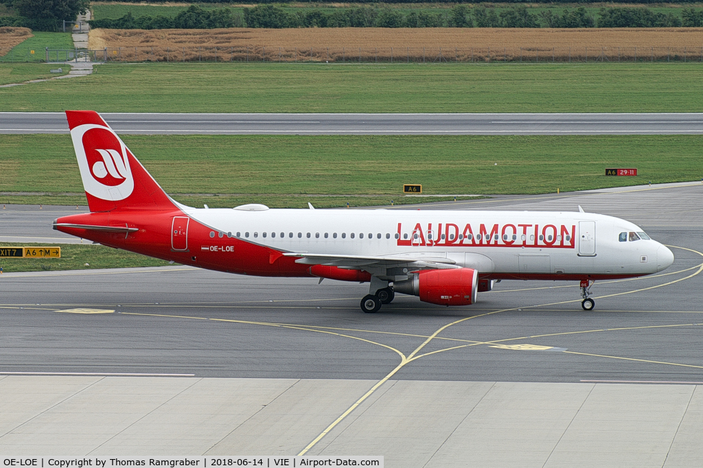 OE-LOE, 1997 Airbus A320-232 C/N 659, Laudamotion Airbus A320