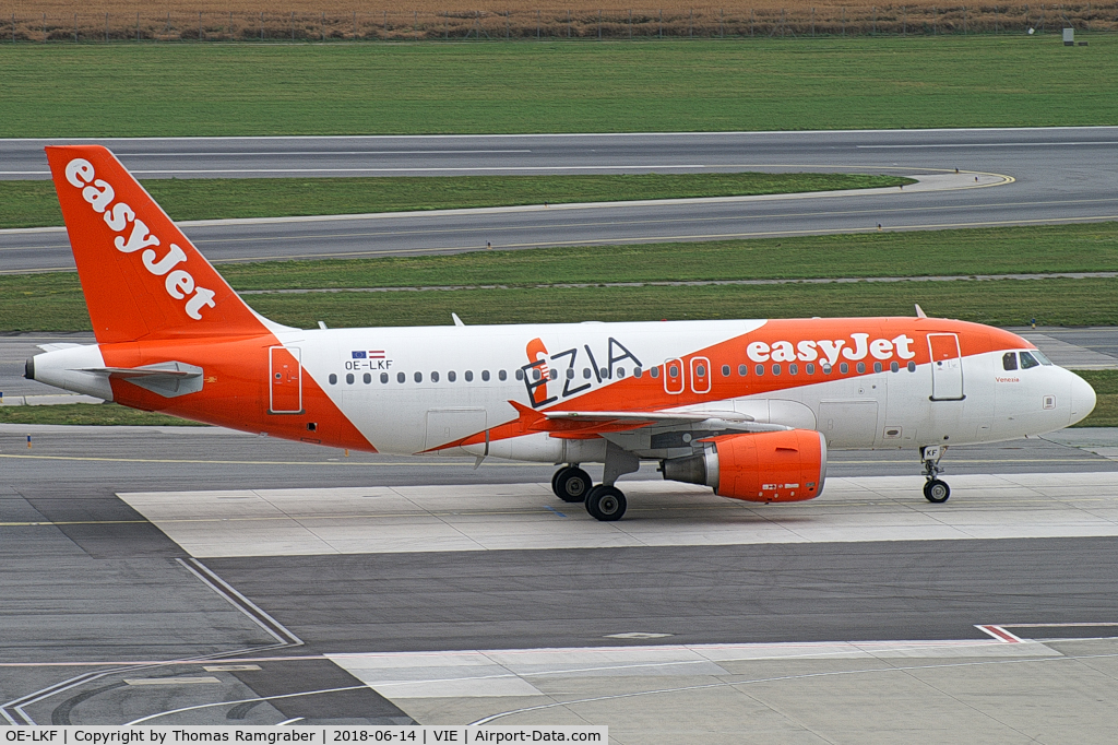 OE-LKF, 2008 Airbus A-319-100 C/N 3746, easyJet Airline Airbus A319