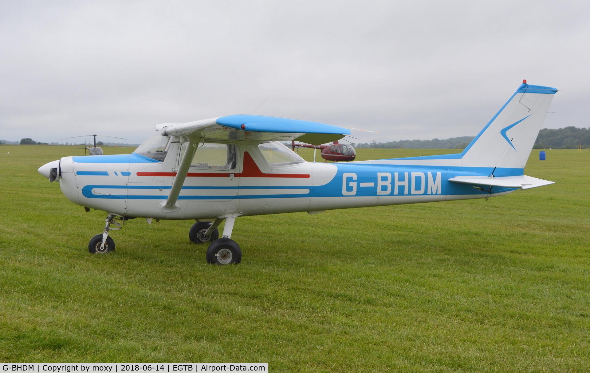 G-BHDM, 1979 Reims F152 C/N 1684, Reims Cessna F152 at Wycombe Air Park.
